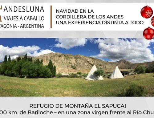Navidad en la cordillera de los Andes